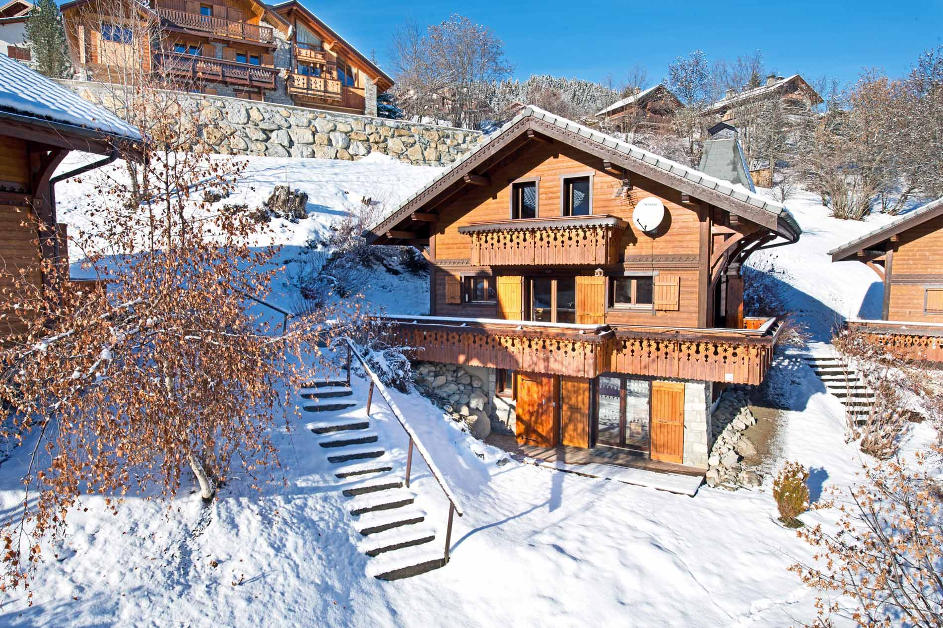 Chalet jardin sauvage ii self catered chalet for Chalet jardin